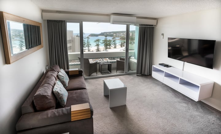 MANLY ONE BEDROOM APARTMENT IMPRESSIVE VIEWS