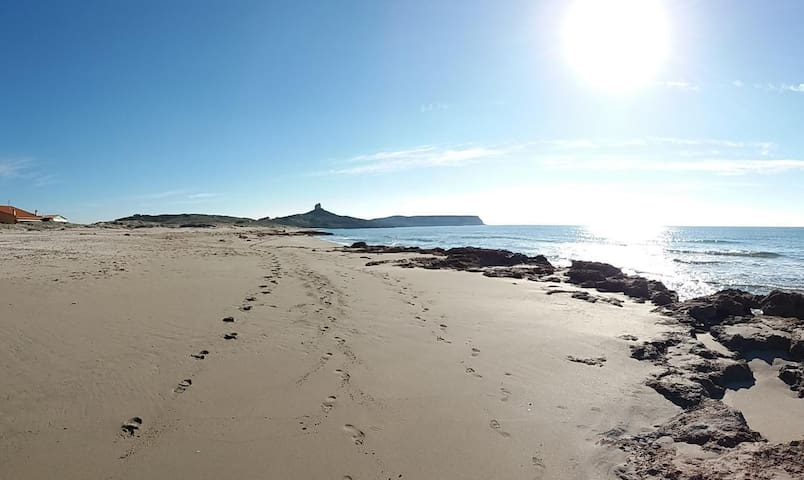 Funtana Meiga Beach and hinteland of the house