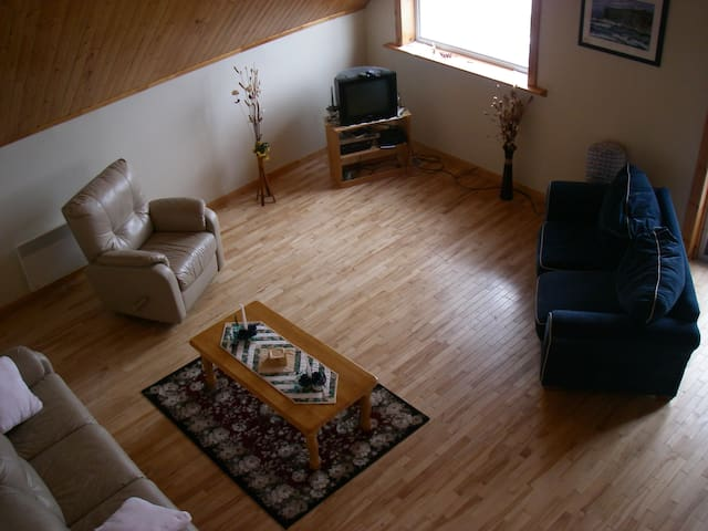 Main Floor Looking from Loft