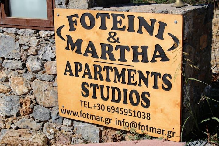 Foteinei & Martha House - Plakias - Lägenhet