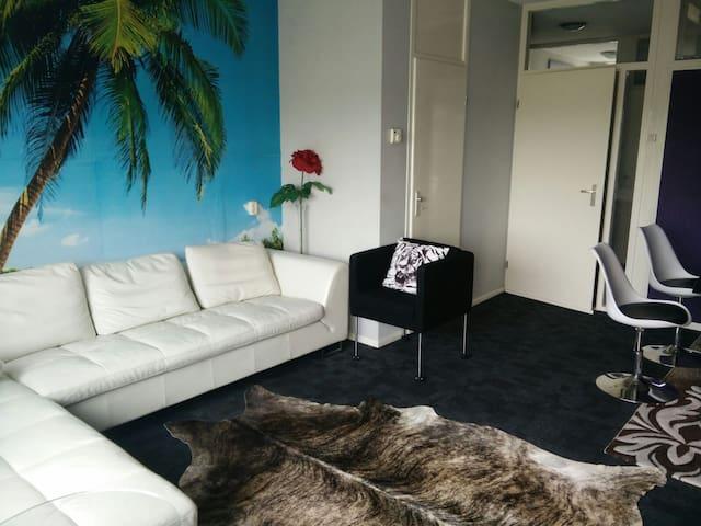 A room in a comfortable apartment - Nijmegen - Leilighet