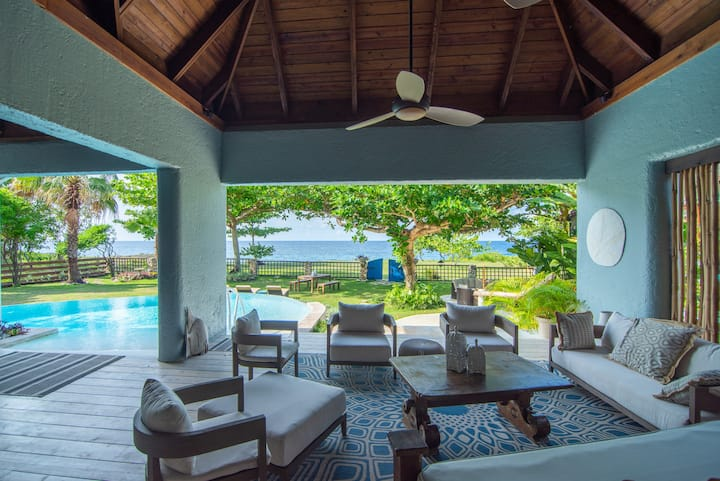 Luxury Villa with Chef and Butler on Caribbean Sea