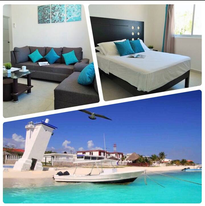 Beautiful Apartamento *10min to beach*swiming pool
