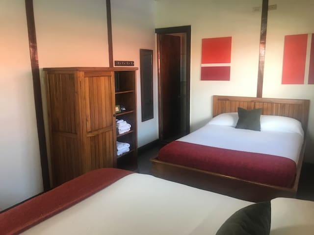 Triple Room (2 Double size Beds)
