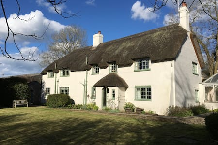 Pound House, idyllic English thatched cottage - Hus