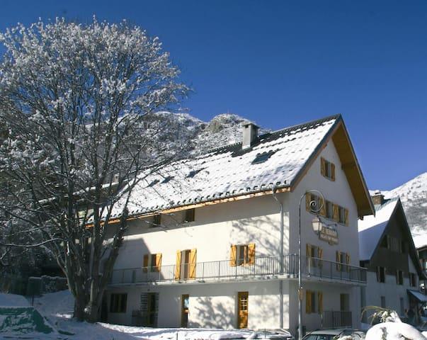 Chambre Quadruple Standard 03 - Petit-Déj inclus - Valloire - กระท่อมบนภูเขา