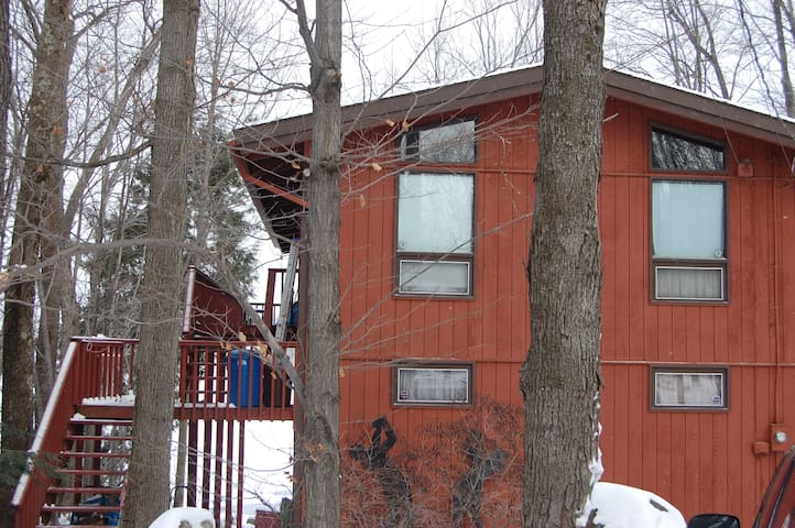 6 Bedroom Lake Front House - Hamlin - Huis