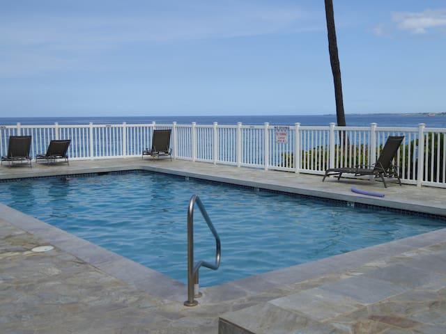 Tropical Luxury –  Oceanfront Pool!!