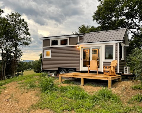 Tiny Living Getaway - with a great view.