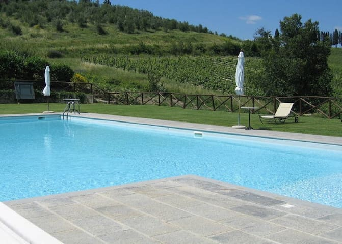 * Charme in the heart of Chianti * - Fiesole - Apartamento