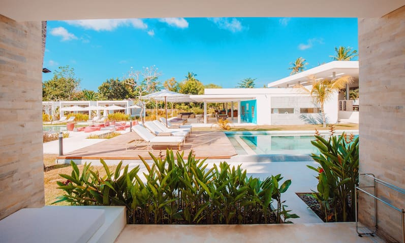 Pool access near Kuta beach Lombok