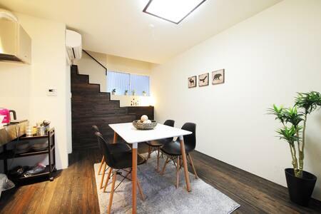 S58) ★Japanese style house2min Shinsaibashi! - Chūō-ku, Ōsaka-shi - Appartement