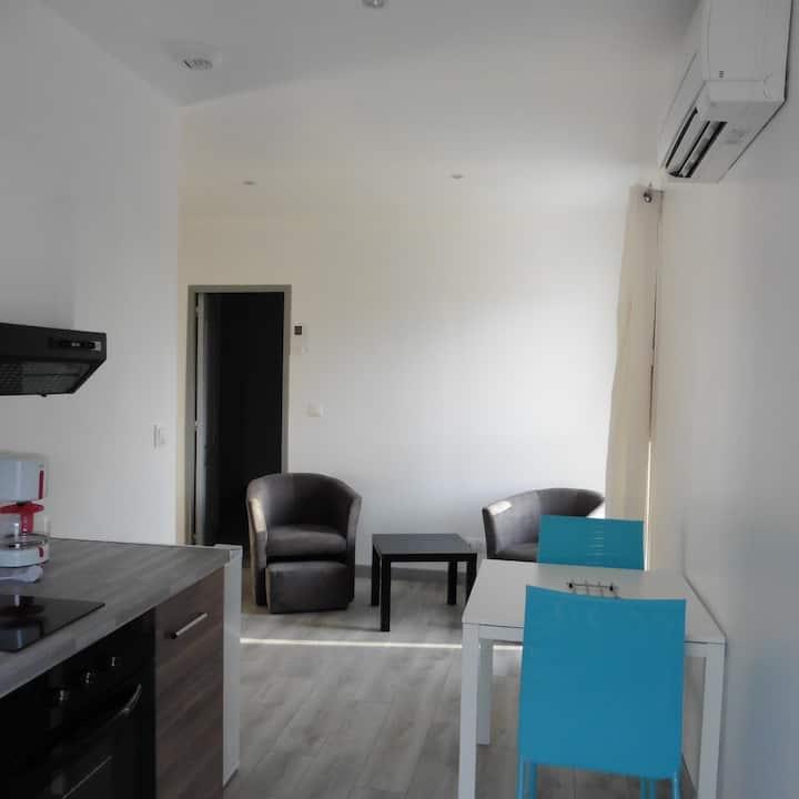 Appartement N° 4 Bleu Le Bon Mat'Ain