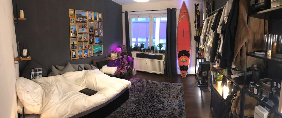 Hübsches Zimmer am Wall