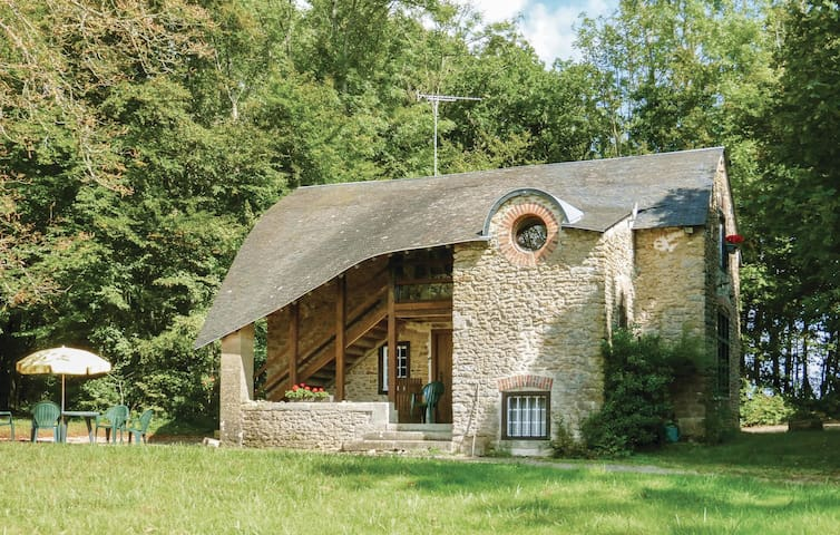 Holiday cottage with 2 bedrooms on 80m² in Hery