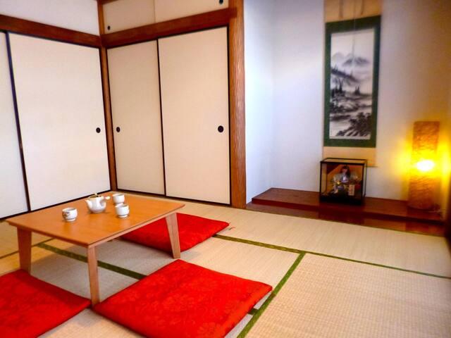 Yotsuya Traditional House, 2BR - Shinjuku-ku - Ev