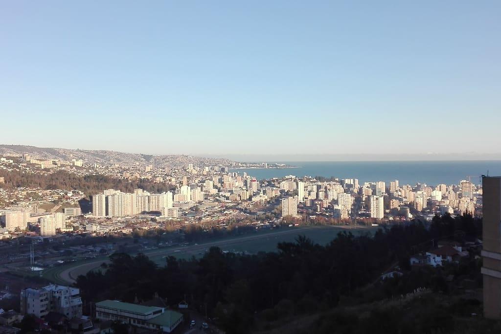 Vista Terraza día