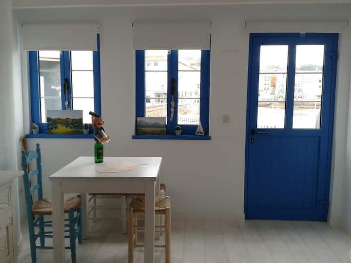 Luanco Casa marinera playa de la Ribera