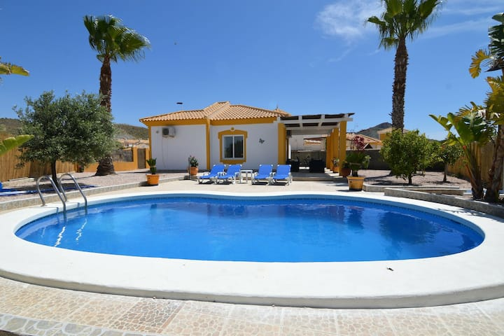 Gorgeous Villa in Mazarrón with Private Pool