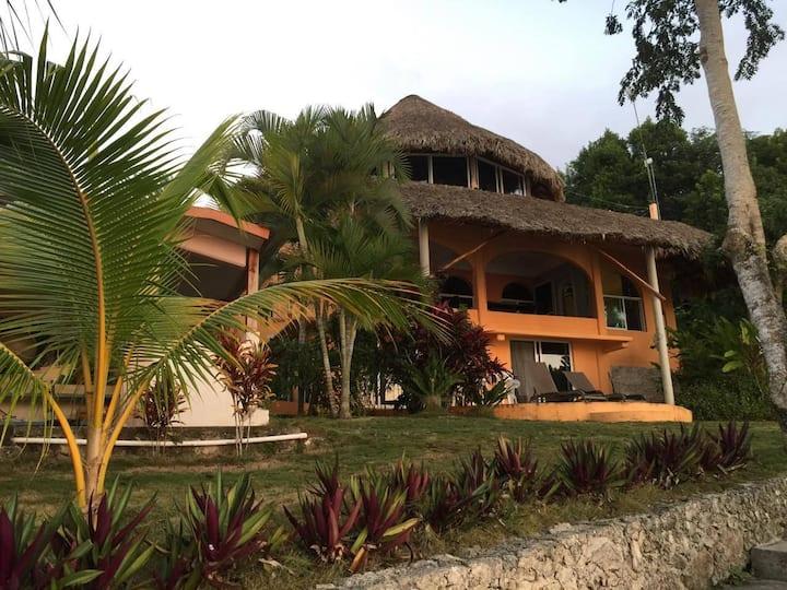 Agave Blue Bacalar Main floor Pvt house on lake
