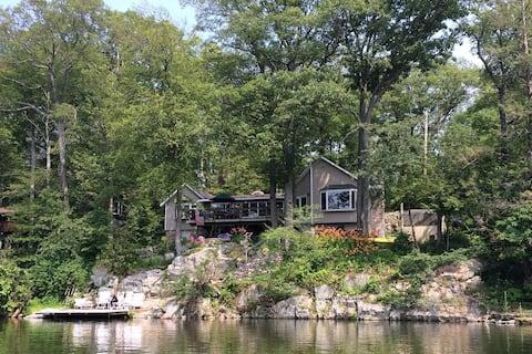 The Mountaintop Lakehouse that Time Forgot.