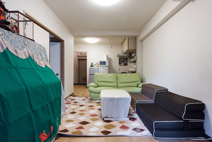 You can stay in Japanese-style room, with Piano. - Adachi - Osakehuoneisto