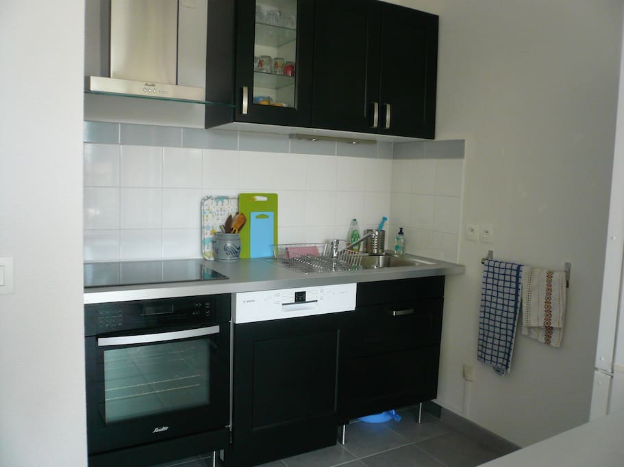 Coin kitchenette