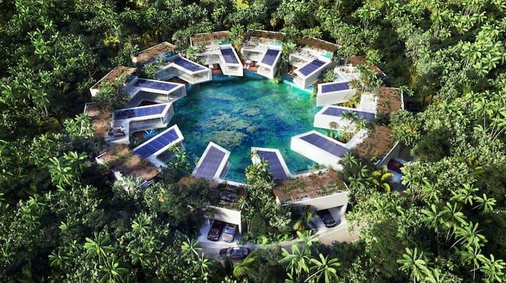 Luxury, nature, & private cenote