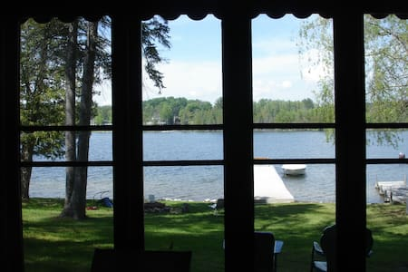Cozy Cabin On The Lake - Bellaire - Cabin - 1