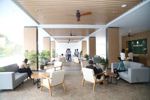Nghỉ dưỡng giá rẻ tại resort 5 sao Naman Garden