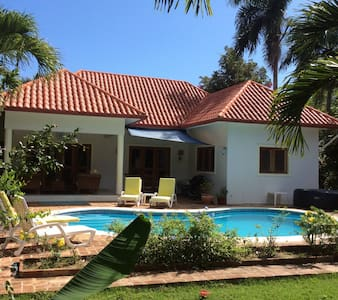 Beautiful villa with private pool and hot tub