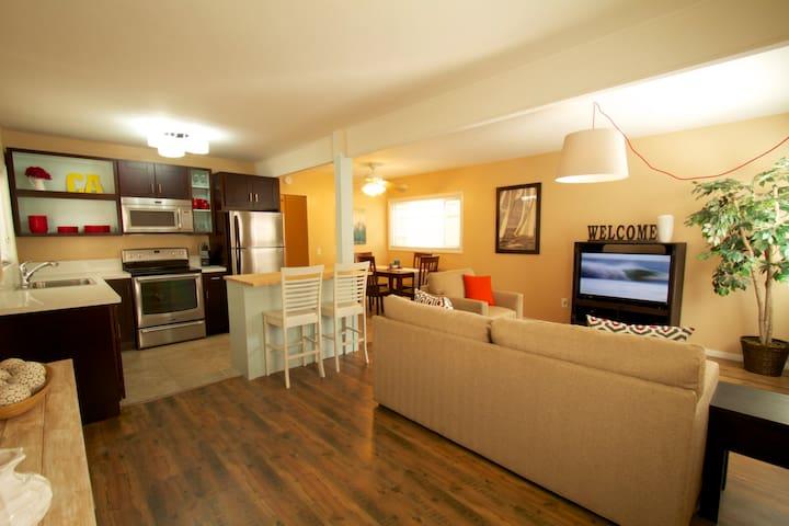 Open concept apartment w/ big patio - San Diego - Apartamento