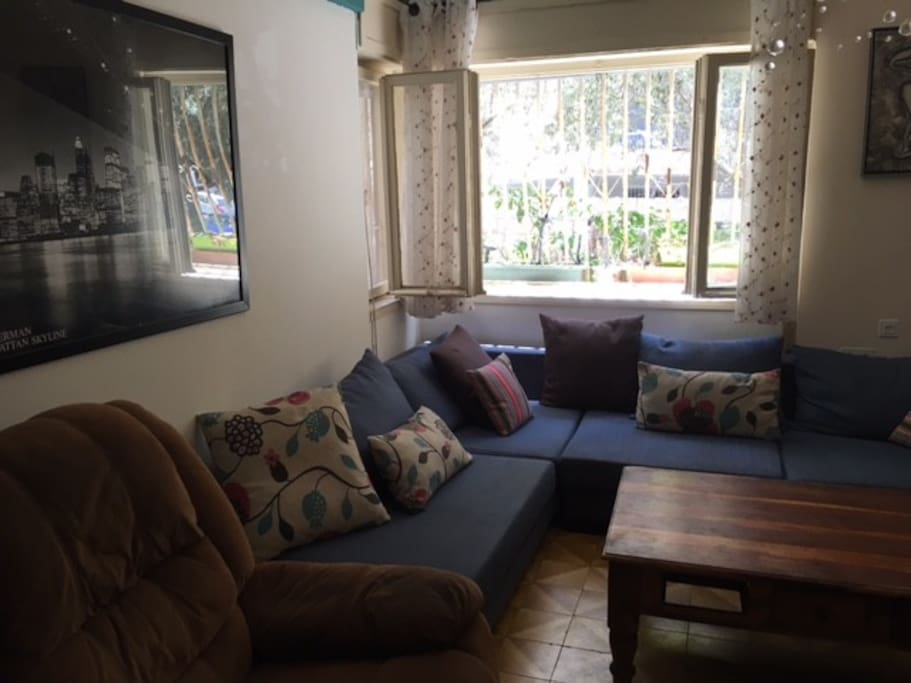 Living room Armchiar and sofa