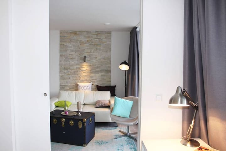 Enjoy your stay in a luxurious apartment.