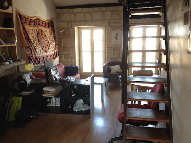Appt centre historique avec mezzanine - Angoulême - Apartment