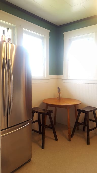 Small dinette in kitchen