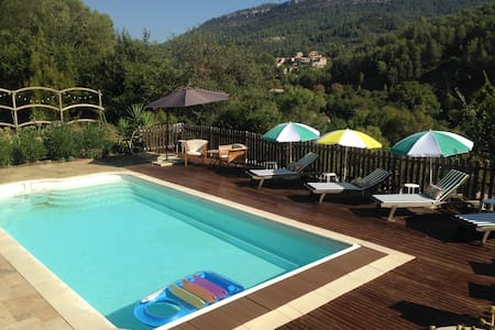 Beautiful Villa stunning views across the Valley - Belgentier