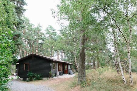 Stuga vid Sandby strand - Borrby - Kabin