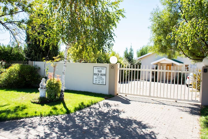 Birch Bush Guest House B&B or self catering.