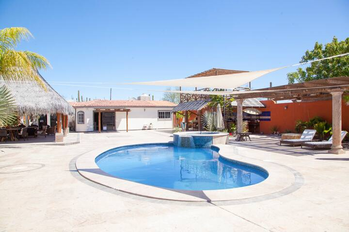 Baja getaway big house with pool! - La Paz - House