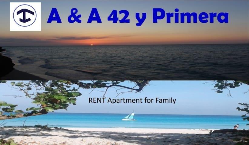 A&A 42 y 1ra Downtown 50 m. de la playa Varadero