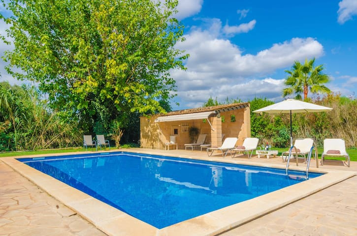 S'ERA NOVA - Villa with private pool in ALGAIDA.
