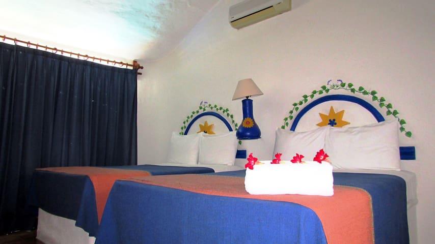 Cómoda habitación de hotel