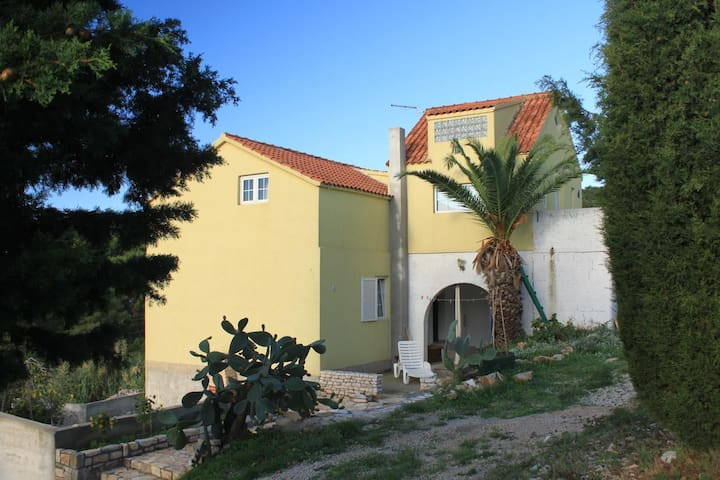 Two bedroom apartment with terrace Rukavac (Vis) (A-8851-a)