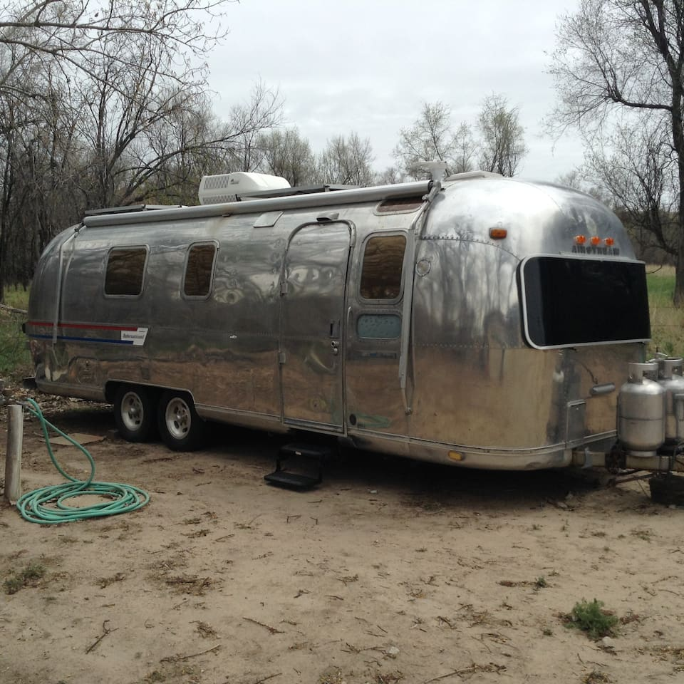 Remodeled Airstream - Experience what it's like to live in an Airstream, but get to do so on a short-term basis.