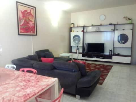 Appartement très chaleureux et équipé