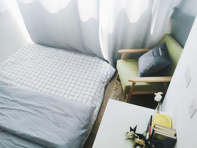 「橘猫与大狗的民宿」北滨路-江景房-国金中心-解放碑五分钟