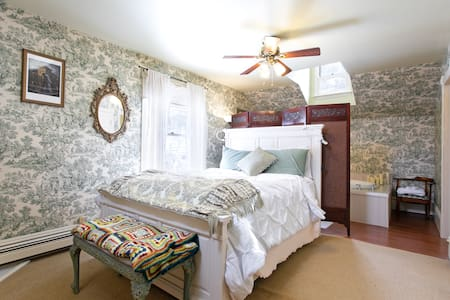 Guanella Pass Suite -Rose Street Bed & Breakfast