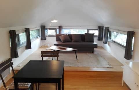 Studio cosy entre Bruxelles, L-L-N et Waterloo