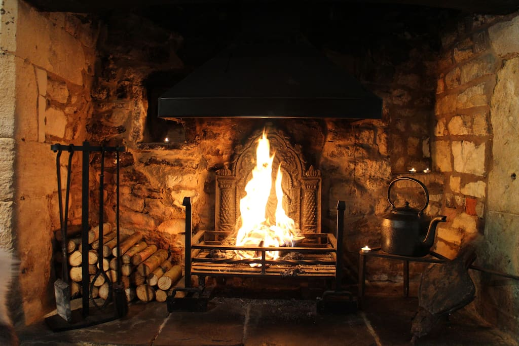 The original inglenook fireplace will keep you warm even on the coldest night & winter guests receive complimentary logs
